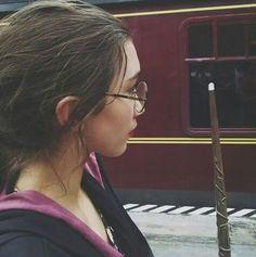 Row as Harry Potter