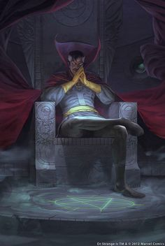 Dr Strange by Caravan Studios by giantsizegeek, via Flickr