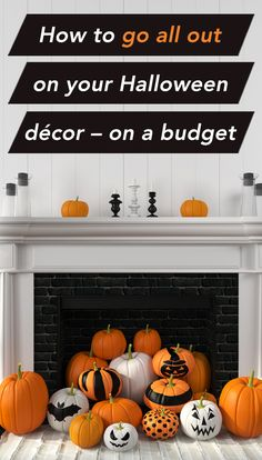 How to go all out on your Halloween Decor - on a budget