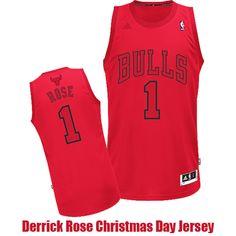 Derrick Rose Christmas Day Jerseys