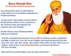 Guru Nanak Ji on Kundalini Shakti