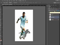 Comment créer l'ombre d'un personnage sur Photoshop - YouTube Photoshop, Desktop Screenshot, Persona