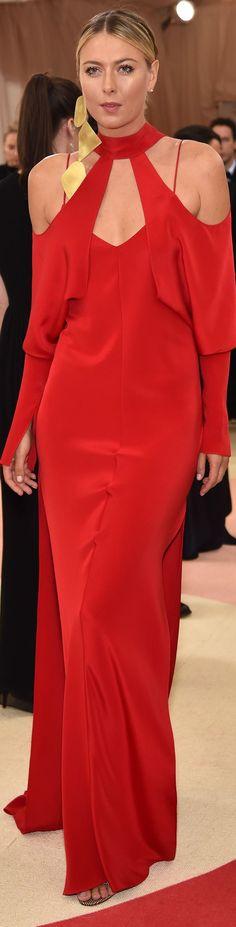 Maria Sharapova veste Juan Carlos Obando - MET Gala 2016