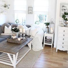 pin by gabi l. on wohnzimmer | pinterest | style, design and ps - Landhaus Wohnzimmer Weis