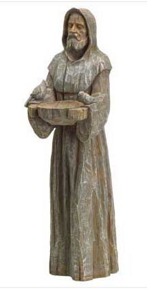 Tree Carving, Wood Carving Art, Wood Art, Sculpture Head, Wood Sculpture, St Francis Statue, Francis Of Assisi, Garden Statues, Sacred Art