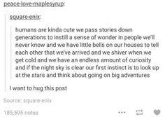 Humans are kinda cute