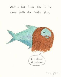 johns marc quirky barber fish never looks he visits read pretty bloglovin