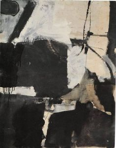 Richard Diebenkorn (1922-1993) Untitled (Albuquerque), 1950