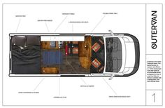 van home layout 738097826412433216 - A campervan floor plan layout, built in a 2017 Dodge Promaster. Source by Van Conversion Life, Van Conversion Floor Plans, Camper Conversion, Campervan Rental, Van Home, Floor Plan Layout, House Layouts, Camper Van, Home Projects