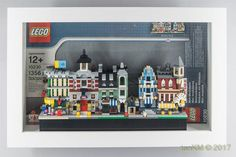 LEGO & IKEA kasseby Idea Lego Minifigure Display, Lego Display, Display Case, Lego Shelves, Lego Storage, Storage Ideas, Vitrine Lego, Lego Office, Lego Architecture