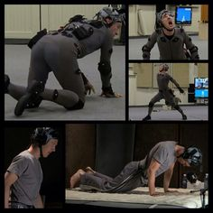 Motion capture should not look this sexy