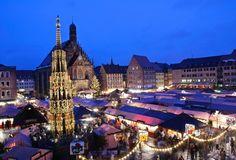 Nuremberg, Germany Christmas Market
