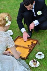 Vintage wedding games hire courtesy of Teaspoon Events
