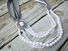 Pearl and Ribbon Necklace - This new weight loss solution has solved all my problems. I lost about 23 pounds fast without changing my diet. I hope this changes some lives like it has changed mine. http://hcgtrim4summer.com