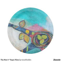 "The Nest 7"" Paper Plate 7 Inch Paper Plate"