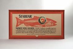 King Salmon, Fish And Meat, Vintage Fishing, Smoked Salmon, Raw Food Recipes, Packaging Design, Campaign, Boxes, Logo