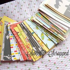 20 Variety Pack of Journal Cards Project by SweetlyScrappedArt, $2.79