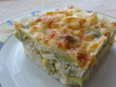 Brokkolis - kukoricás sajtos tészta