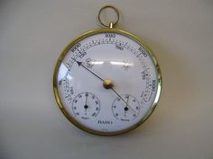 barometer modern style germany BORO scientific instrument android & thermometer