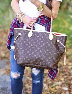 Louis Vuitton Shopper Shoulder Tote- Louis Vuitton new handbags collection http://www.justtrendygirls.com/louis-vuitton-new-handbags-collection/