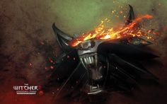 Vídeo Game The Witcher 2: Assassins Of Kings  The Witcher Warrior Jogos Logo Wolf Papel de Parede