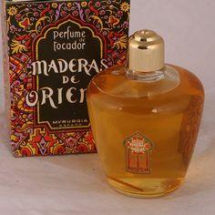 Perfume Bottle Viard - Maderas de Oriente perfume Myrurgia