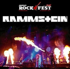 The mighty Rammstein will be playing Amnesia RockFest in Quebec!