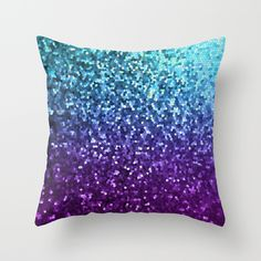 SOLD Throw Pillow Mosaic Sparkley Texture G198! #Society6 #throw #pillow #mosaic #sparkley #texture #turquoise #purple https://society6.com/product/mosaic-sparkley-texture-g198_pillow#25=193&18=126