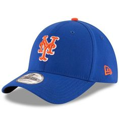 Adult New Era New York Mets Team Classic 39THIRTY Flex-Fit Cap, Men's, Size: Medium/Large, Multicolor