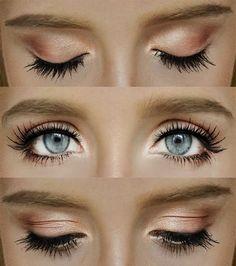 Makeup that makes eyes pop