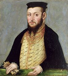 Sigismund II Augustus (1520 - 1572). King of Poland from 1548 until his death in 1572. He married three times but had no children.