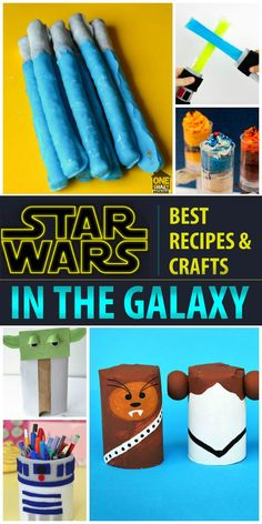 Bring out the Force - 30 Star Wars Crafts and Activities Star Wars fans, rejoice! If you need Star Wars party ideas or just need a fun craft or recipe for movie night, you've come to the right place. Theme Star Wars, Star Wars Day, Star Wars Kids, Party Activities, Activities For Kids, Christmas Activities, Educational Activities, Classroom Activities, Crafts For Kids To Make