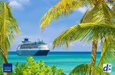 #DESPEGAR ama tanto los #cruceros como tú! Aborda el próximo y vamos por el caribe! #trip #cruises #travel #turismo #blog