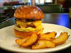 PIneapple Bacon Cheeseburger