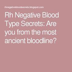 basque rh negative blood