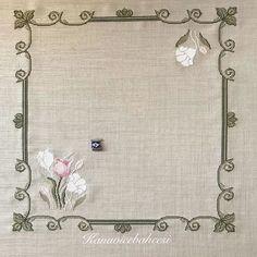 Mini Cross Stitch, Cross Stitch Flowers, Cross Stitch Patterns, Embroidery Dress, Hand Embroidery, Embroidery Designs, Bargello, Cross Stitching, Crochet Stitches