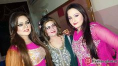 Pashto Film Actress Sobia Khan and Stage Dancer Neelam Gul