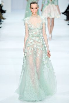 Elie Saab Spring 2012 Couture Fashion Show - Josephine Skriver (IMG)
