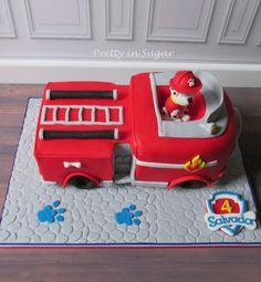 Marshall Fire Truck - Paw Patrol | Patrulha Pata