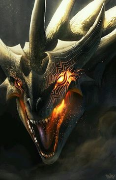 Cool looking dragon similar to how I describe the Dragon Demons in my YA short story Eve The Soul Reaper.