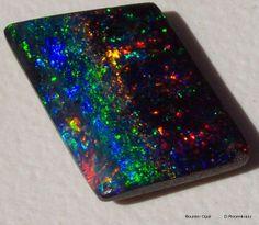 """Boulder Opal """"universe in a stone"""" Gem Guru"""