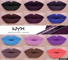 Nyx liquid suede 2016 new colors