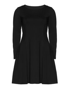Manon Baptiste Tapered cotton day dress in Black