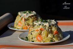 Salata ruseasca de post | Retete culinare cu Laura Sava - Cele mai bune retete pentru intreaga familie Mai, Potato Salad, Cabbage, Potatoes, Vegetables, Ethnic Recipes, Pork, Salads, Vegetable Recipes