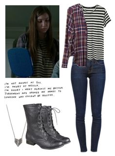 Enid 6x15 - twd / the walking dead by shadyannon on Polyvore featuring polyvore fashion style Lush Clothing Proenza Schouler Frame Denim Forever 21 clothing