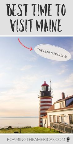 What's the Best Time to Visit Maine? [MONTH-BY-MONTH GUIDE] Wondering when the best time of year is to plan your vacay in Vacationland? Check out this in-depth Maine travel guide with tips from a local, including when NOT to plan your Maine vacation! Maine Road Trip, Road Trip Usa, Best Vacations, Vacation Trips, Vacation Ideas, Vacation Spots, Places To Travel, Travel Destinations, Visit Maine