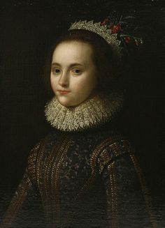 Follower of William LarkinPORTRAIT OF A YOUNG LAD