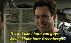 Greenberg...