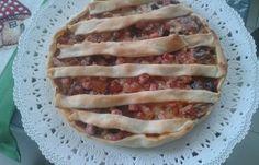 Torta rustica con le melanzane www.cucinandomania.it
