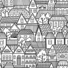 Do you like traveling and exploring new cities? If you do, then this Houses and Homes Coloring Page is the right thing for you. Download, print, color!